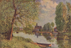 Alfred Sisley. River landscape in the vicinity of Moret-sur-Loing