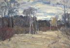 Boris Petrovich Zakharov. Days of late autumn. Etude.
