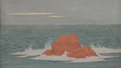 Sea, waves (La Mer, la houle), 1903 Oil on wood, 15,5 x 23,7 cm