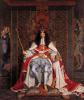 Карл ІІ в коронационных одеяниях