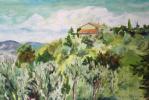 Albina Khusainova. Paesaggio Toscano