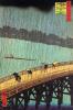 """Внезапный летний ливень над мостом Охами в Атакэ. Серия """"100 знаменитых видов Эдо"""""""