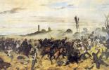 Джованни Фаттори. Кавалерийская атака в Монтебелло