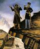 Шете помогает князю Барятинскому поймать Шамиля