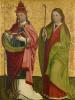 Григорий Двоеслов и святая Агата