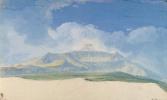 Жан-Пьер-Лоран Уэль. Вершина Этны с восточной стороны