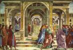 Доменико Гирландайо. Изгнание из храма