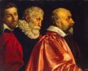 Групповой портрет трех советников Парижского магистрата