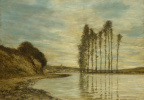 Гомер Додг Мартин. Вид на Сену