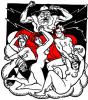 """""""Боги, богині і півбоги..."""". Иллюстрация к поэме И. Котляревского """"Энеида"""""""