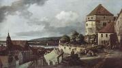 Вид Пирны, Пирна, вид со стороны крепости Зонненшайн