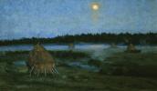Станислав Юлианович Жуковский. Восход луны