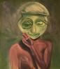 Untitled (Green Mask)