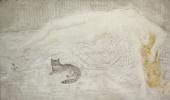 Цугухару Фудзита (Леонар Фужита). Обнаженная и кошка