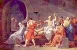 Жак-Луи Давид. Смерть Сократа