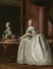 Портрет Екатерины II перед зеркалом