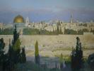Jerusalem. Morning after thunderstorm