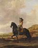 Equestrian portrait of Peter Saute