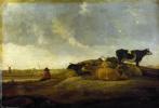 Альберт Кейп. Пастух с семью коровами на реке