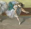 Отдыхающая танцовщица