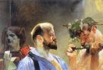 Jacek Malchevsky. The Law, The Fatherland, Art. Triptych. The law