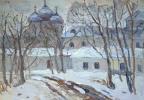 Boris Petrovich Zakharov. Winter came. Izmailovo.