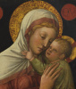 Madonna and Child. Fragment