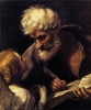 Evangelist Matthew and the angel