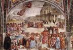 Лука Синьорелли. Проповедь и дела антихриста