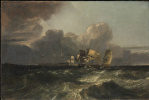 Joseph Mallord William Turner. Ships at anchor (Marine landscape in Egremont)