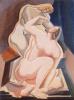 Две обнаженные женские фигуры