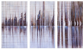 In the rhythm of the city. Triptych