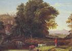 Джордж Иннесс. Итальянский пейзаж с акведуком