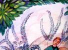 Эскиз росписи стены в доме Я. Жуковского в Кучук-Кое. Фрагмент