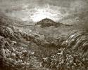 Иллюстрация к Библии: гибель египтян в Чермном море