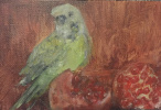 Anna Polyakova. Гранат и птица