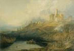 Джозеф Мэллорд Уильям Тёрнер. Замок Вакворт, Нортамберленд. Солнце выходит после бури