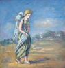"""Печальный ангел. Из серии """"Ад и рай"""""""