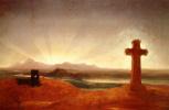 Томас Коул. Крест на закате