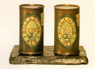 Painted bronze (ale Cans, Ballentin)