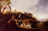 Melchior de Hondecuiter. The garden of Eden