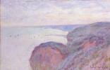 Claude Monet. On the steep banks near Dieppe