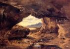 Теодор Руссо. Пещера в скале возле Гранвиля