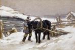 В сельской местности в зимнее время