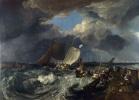 Мол в Кале. Французские рыбаки выходят в море, прибывает английское пассажирское судно