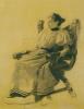 Портрет неизвестной, сидящей в кресле