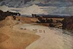 Джон Селл Котмен. Речной пейзаж со стадом