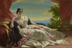 Франц Ксавер Винтерхальтер. Великая княгиня Леонилла Сайн-Витгенштейн-Сайн, урожденная Барятинская