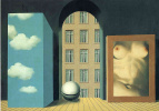 Rene Magritte. Act of violence