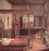 Цикл картин к житию св. Урсулы, сон святой